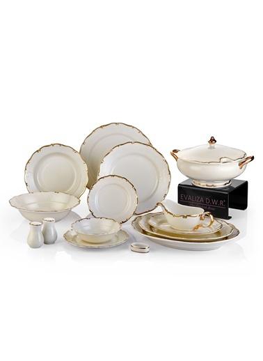 Koleksiyon Gloria Relıef Yemek Seti 100Pc-Koleksiyon